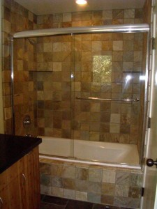 Chrome Bypass Shower Doors