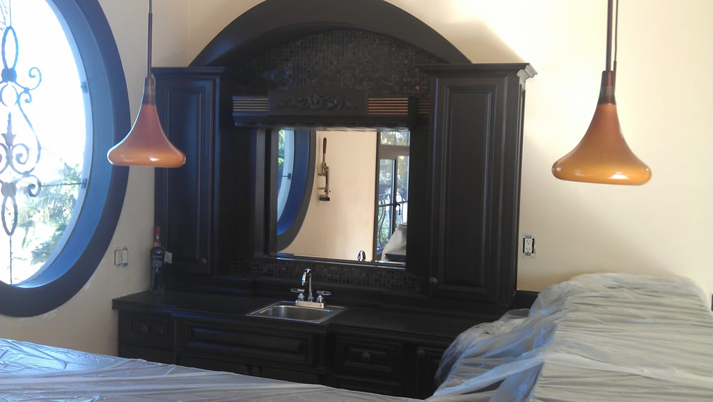 Custom mirrors in crown point pacific beach patriot for Custom mirror glass