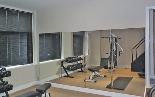 Exercise Room Mirror