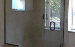 Frameless Shower Enclosure - San Diego