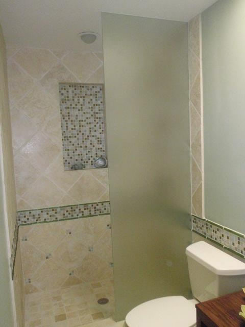 Bathroom Mirrors San Diego glass shower partition - patriot glass and mirror | san diego ca