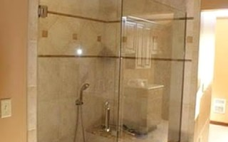 Glass Shower Wall – Angled