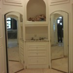 Arched Mirrored Doors - CA