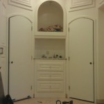 Arched Mirrors - Before