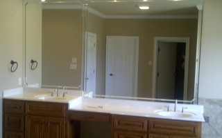 Custom Bathroom Mirror - CA