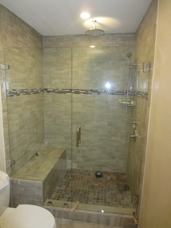 Glass Shower Enclosure South Park San Diego Patriot Glass And