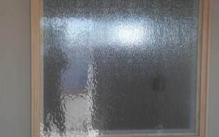 Rain Glass Partition San Diego - After
