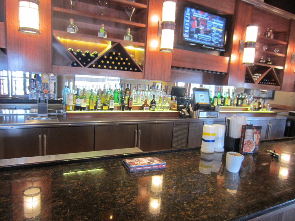 Custom Bar Mirrors At Red Lobster Patriot Glass And