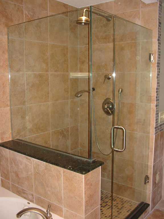 Glass Frameless Shower - CA