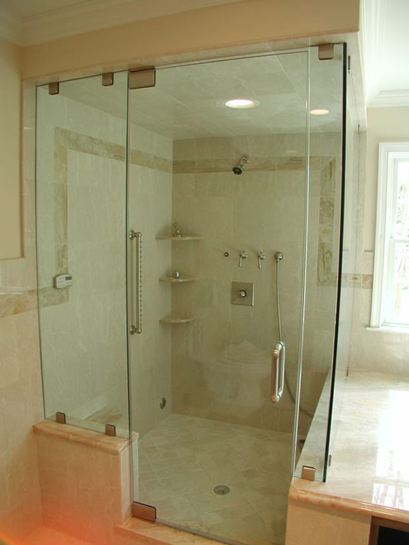 Glass Steam Shower Enclosure - San Diego - Patriot Glass and ...