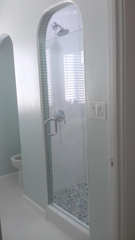 Tempered Glass Shower Door San Diego Patriot Glass And Mirror