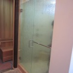"3/8"" Tempered Rain Glass Shower Enclosure"