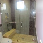 Frameless Glass Shower Enclosure Rancho Santa Fe