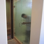 Rain Glass Shower Enclosure