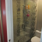 3/8 Inch Frameless Shower Enclosure Mira Mesa