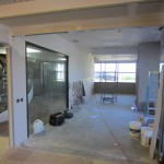 Before Commercial Glass Installation Mira Mesa