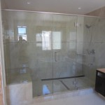 Half Inch Tempered Glass Shower