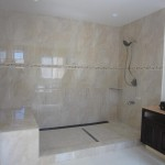 Shower Ready For Glass Install