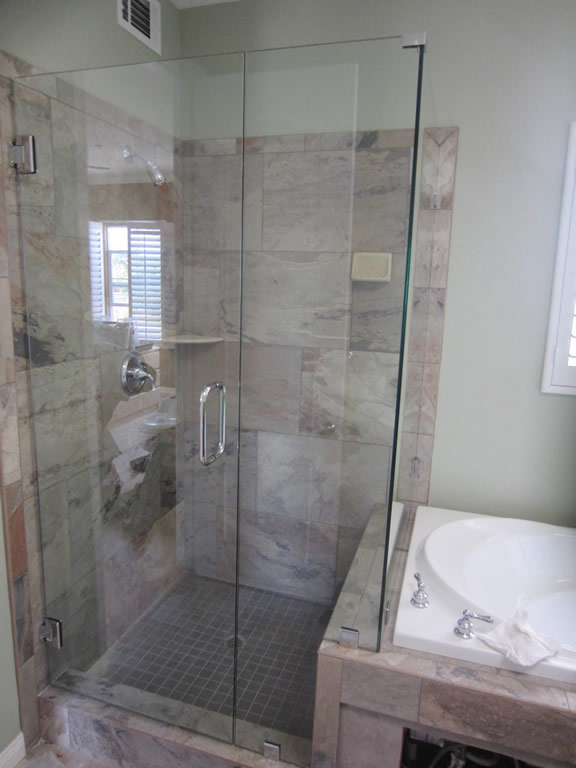 Remodeling bathroom showers