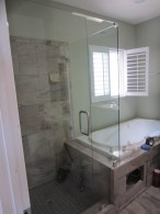 Hillcrest Frameless Shower Enclosure Installation