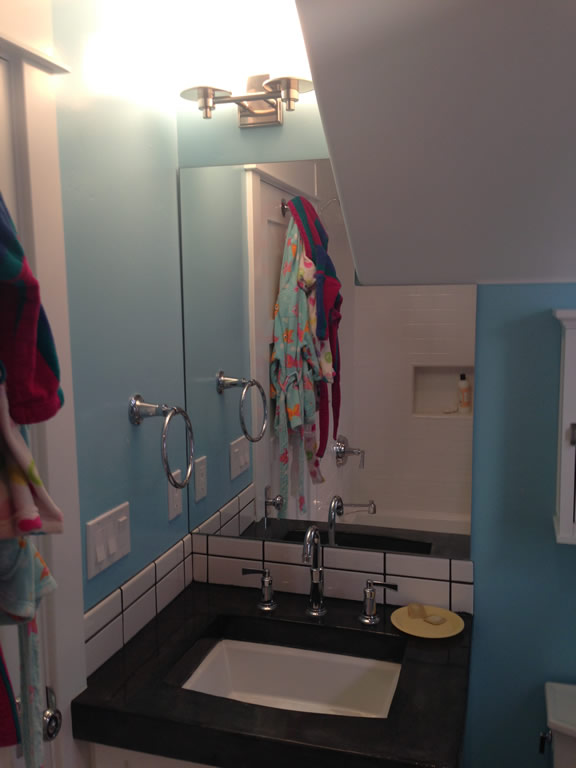 Bathroom Mirror Notched Around Ceiling Coronado - Patriot ...