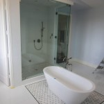 1/2 Inch Frameless Glass Steam Shower Enclosure Del Mar