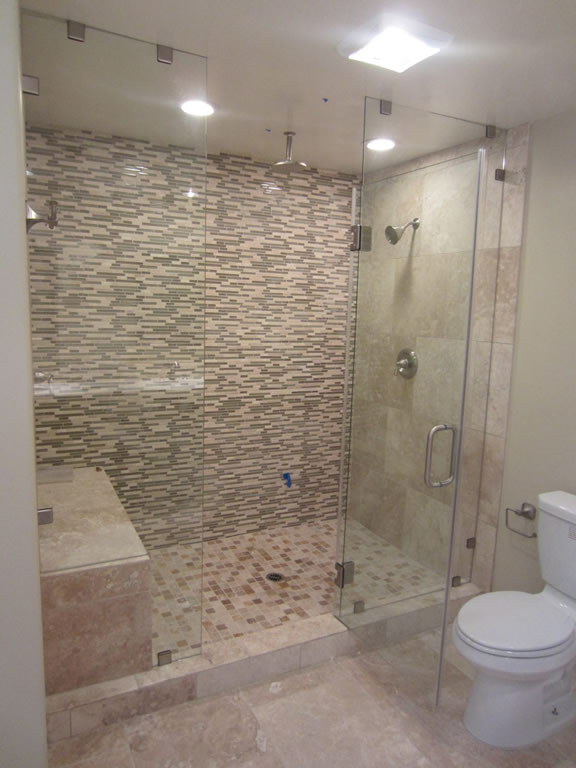 Awesome Frameless Glass Shower Enclosure