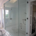 Large Frameless Glass Steam Shower Enclosure Del Mar