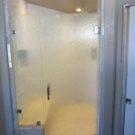 Rain Glass Shower Door Install San Diego