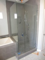 Frameless Glass Shower Enclosure In North Park