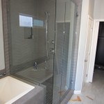 Frameless Glass Shower In North Park