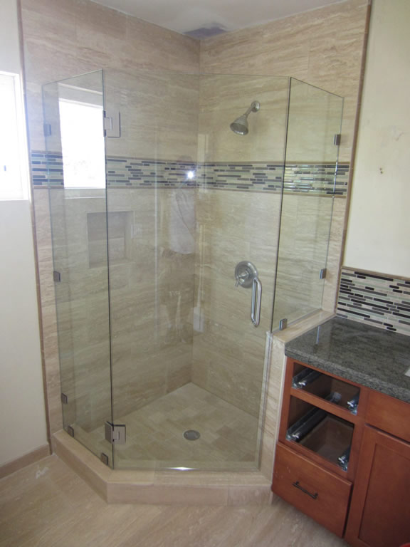Neo Angle Shower Enclosure Hillcrest Patriot Glass And