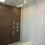 Frameless Steam Shower With Adjustable Vent Pacific Beach