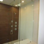 Frameless Steam Shower With Movable Vent Pacific Beach