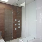 Frameless Steam Shower With Vent Pacific Beach