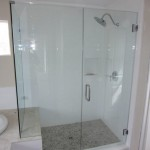 Framless Shower Enclosure 90 Degree Return Panel La Mesa