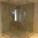 Large Neo Angle Shower Enclosure Mission Hills San Diego