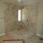 Neo Angle Frameless Shower Enclosure Installation