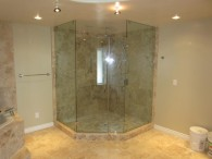 Neo Angle Frameless Shower Enclosure Mission Hills San Diego