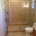 San Diego 3/8 Inch Frameless Shower Enclosure Installation