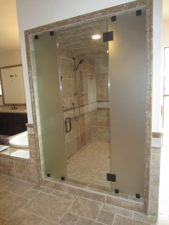 Steam Shower - Custom 1/2 Inch Glass - Patriot Glass and Mirror ...