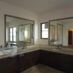 Custom Mirrors In Tile Frames La Jolla