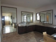 Custom Mirrors Set In Tile Frames In La Jolla