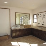 Custom Tile Framed Mirror Installation