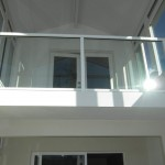 Pacific Beach Interior Glass Railing Installation