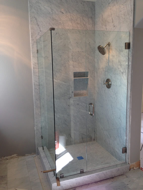 3/8 Inch Frameless Glass Enclosure