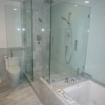 Beautiful 3/8 Glass Shower Enclosure