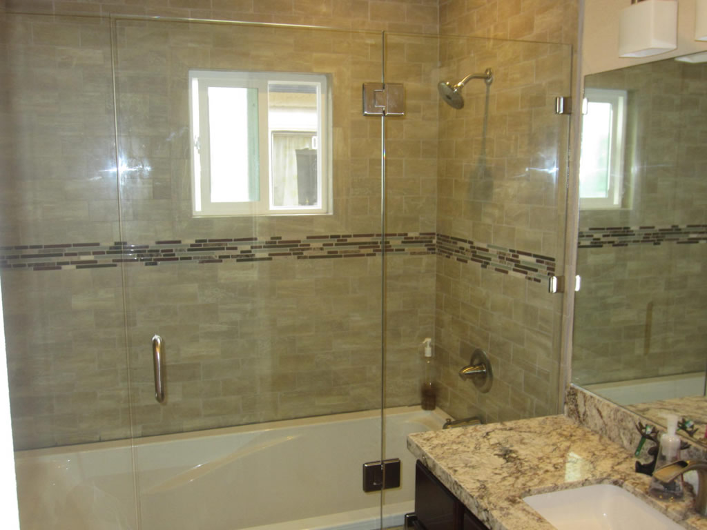 Sliding Shower Door Alternative Patriot Glass and Mirror San