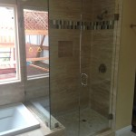 North Park San Diego Frameless Glass Shower Installation