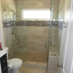 Shower Glass Protected With EnduroShield